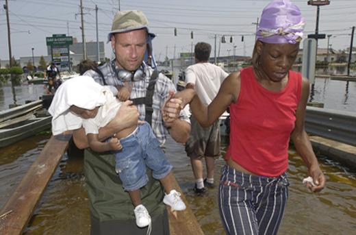 New Orleans, Spiegel TV 2005, nach Hurricane Katrina