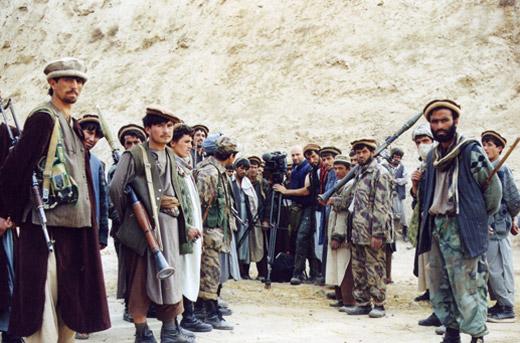 Afghanistan, BBC 2001, kurz vor dem Fall von Kunduz